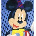Пляжное полотенце Микки Маус 2. ТМ Golden Daisy