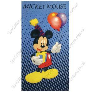 Пляжное полотенце Микки Маус 2