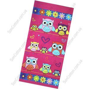Пляжное полотенце Owls