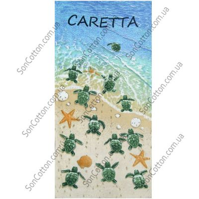 Пляжное полотенце Caretta. ТМ Golden Daisy