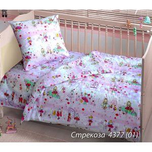 Стрекоза. Детский КПБ в кроватку (ТМ Блакіт - Беларусь)