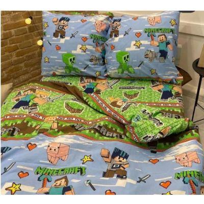 Детское постельное белье Майнкрафт