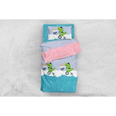 Дино. Детский комплект постельного белья
