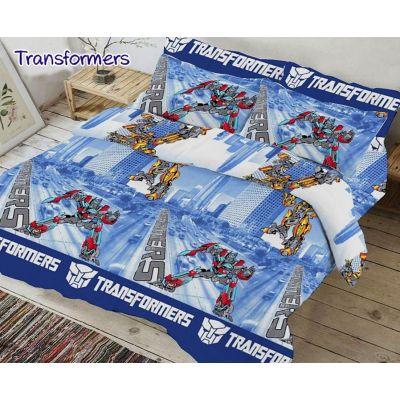 Комплект детского постельного белья Transformers 2019