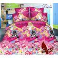Комплект детского постельного белья Барби