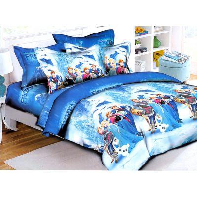 Комплект детского постельного белья Холодное сердце