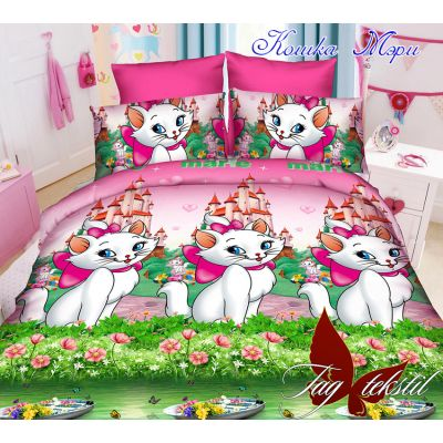 Комплект детского постельного белья Кошка Мери