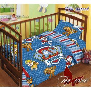 Paw patrol. Детский КПБ в кроватку