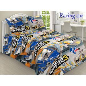 Racing car. Дитячий півтораспальний КПБ