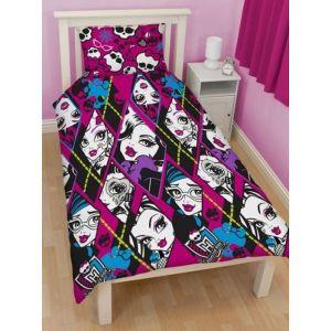 Полуторный КПБ Monster High, арт. 9849. Детское постельное белье Вилюта, ранфорс