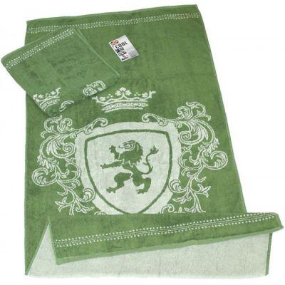 Махровое полотенце Bravery (темно зеленый). ТМ Сool
