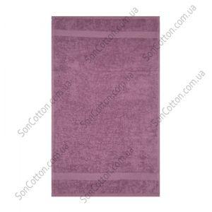 Лиловое полотенце махровое Азербайджан