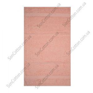Персиковое полотенце махровое Азербайджан