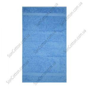 Синее полотенце махровое Азербайджан