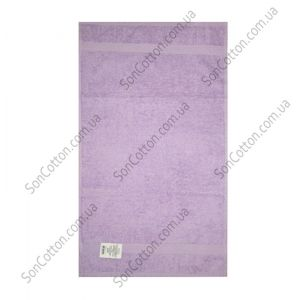 Сиреневое полотенце махровое Азербайджан