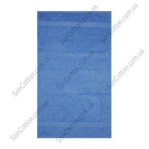 Темно-синее полотенце махровое Азербайджан