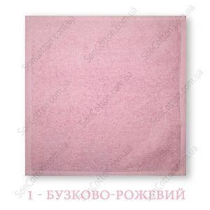 Салфетка махровая 30*30 см цвет в ассортименте, Украина