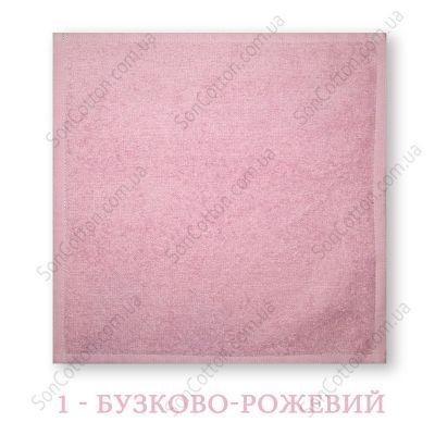 Салфетка махровая 30*30 см, цвет в ассортименте, Украина