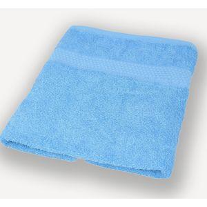 Голубое полотенце махровое Братислава