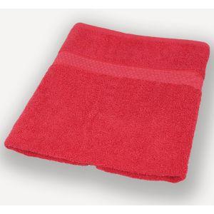 Красное полотенце махровое Братислава