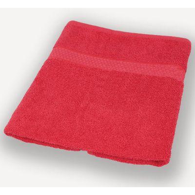 Махровое полотенце Красное, ТМ Братислава - Узбекистан