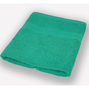 Зеленое полотенце махровое Братислава