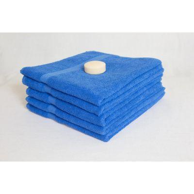 Махровое полотенце Насыщенно-голубое, ТМ Братислава - Узбекистан