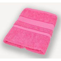 Насыщенно-розовое полотенце махровое Братислава