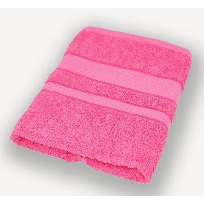 Махровое полотенце Насыщенно-розовое, ТМ Братислава - Узбекистан