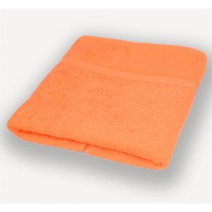 Оранжевое полотенце махровое Братислава
