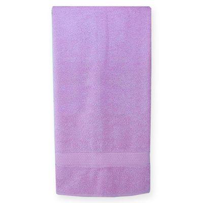 Махровое полотенце Сиреневое, ТМ Братислава - Узбекистан