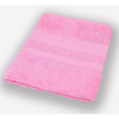 Махровое полотенце Светло-розовое, ТМ Братислава - Узбекистан