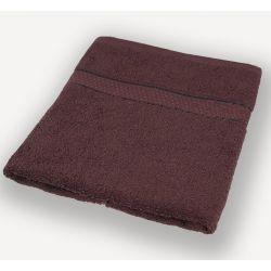 Темно-коричневое полотенце махровое Братислава