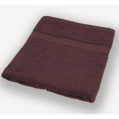 Махровое полотенце Темно-коричневое, ТМ Братислава - Узбекистан