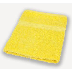 Желтое полотенце махровое Братислава