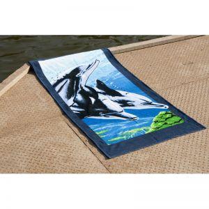 Пляжное полотенце Дельфины 1