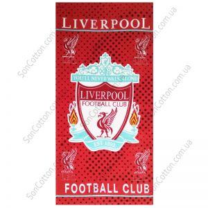 Пляжное полотенце Liverpool football club
