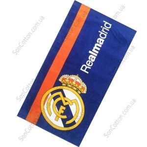 Пляжное полотенце Real Madrid (синий)
