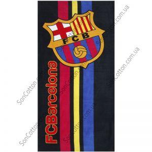 Пляжное полотенце FC Barselona. ТМ Golden Daisy