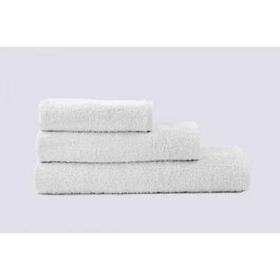 Basic Белый (400 г/м²) - махровое однотонное полотенце. Производитель Lotus, Украина