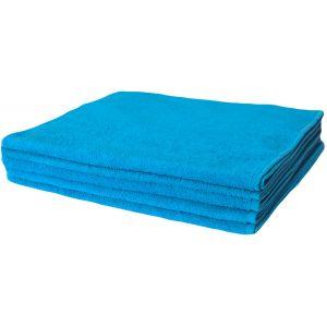 Basic Бирюзовый. Махровое полотенце однотонное
