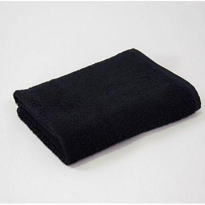 Basic Черный - махровое однотонное полотенце. Производитель Lotus, Украина