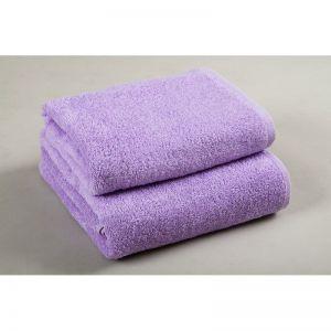 Basic Лиловый. Махровое полотенце однотонное