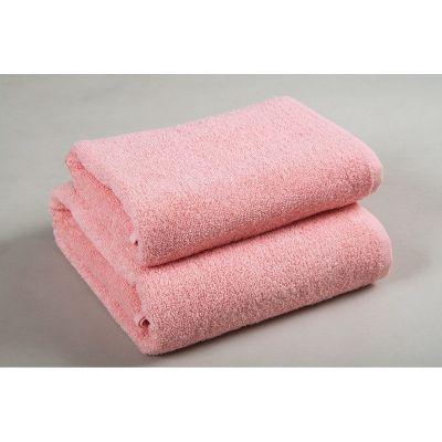 Basic Персиковый - махровое однотонное полотенце. Производитель Lotus, Украина