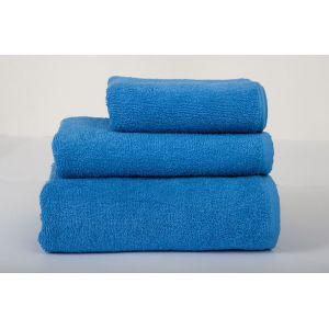 Basic Синий. Махровое полотенце однотонное