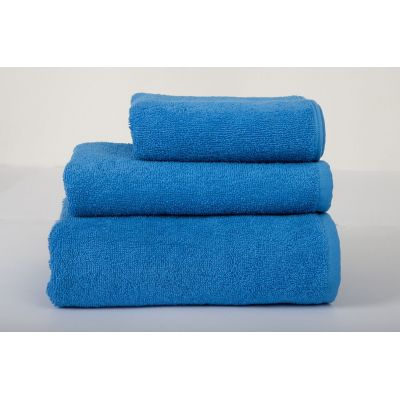 Basic Синий - махровое однотонное полотенце. Производитель Lotus, Украина
