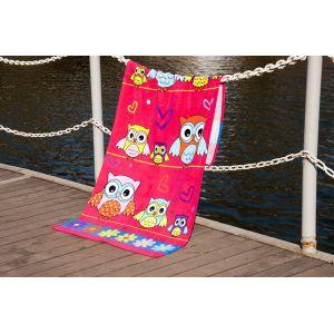 Пляжное полотенце Owls. ТМ Golden Daisy