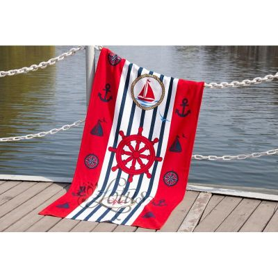 Пляжное полотенце SAILOR, ТМ Lotus