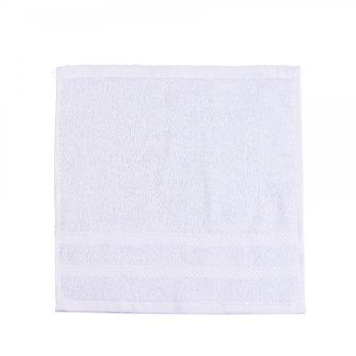 Махровая салфетка White - цвет Белый. ТМ PrimeTex, коллекция Luxury