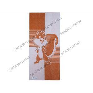 Белка. Махровое полотенце 67*150 см